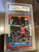 MICHAEL JORDAN 1996-97 FLEER #4 DECADE OF EXCELLENCE 1986 ROOKIE CARD GEM-MT 10