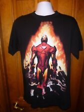 Official Marvel IRON MAN T-Shirt Marvel Comics Tony Stark NWT Size (M) Ironman