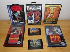 Lot De 7 jeux Sega Mega-drive Avec Documentation
