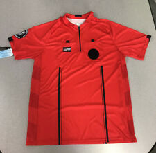 OFFICIAL SPORTS Brand USSF RED Soccer Referee Jerseys New with Tags