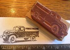 1946-1968 DODGE POWER WAGON RUBBER STAMP Chrysler Mopar 1948 1952 1954 1955 1960