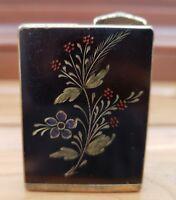 Vintage Consul Amor Perfume Atomizer Brass & Enamel  - Germany Made