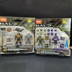 Mega Halo Brute Weapons Customizer&UNSC SPARTAN lll CUSTOMIZER PACK DXR57 GLB76