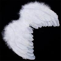 Angel White Feather Wing Christmas Tree Decoration Hanging Wedding Ornament