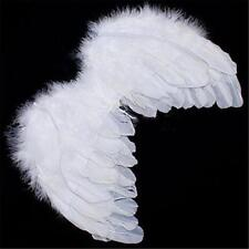 Chic Angel White Feather Wing Christmas Tree Decoration Hanging Wedding Ornament