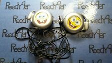 Spongebob headphones for GBA systems sound stereo ear phones clip behind ear SP