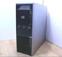 HP Z600 Workstation Windows Tower Intel Xeon Quad E5530 2.4 8GB 2x 320GB HD WiFi