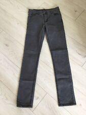 Cheap Monday Ladies High Waist Tight Light Black Skinny Jeans W27 L32 Fab!