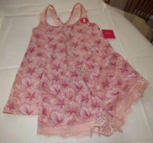Catherine Malandrino S womens Juniors 2 pc Pajama top & shorts set sleepwear
