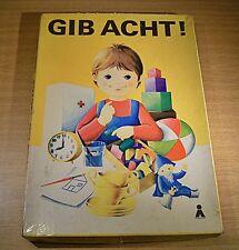 """10261.17 Plasticart DDR Würfelspiel """"Gib Acht"""",ab 4 Jahre,vollständig"""