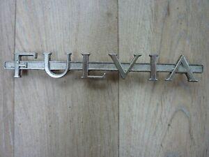 lancia fulvia badge