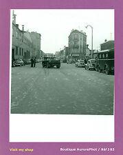 PHOTO DE POLICE CONSTAT D'ACCIDENT 1955, CAMION & VIEILLES VOITURES  -J83