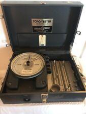 STURTEVANT RICHMONT E-M-H 150 TORQUE ANALYZER