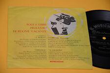 """7"""" 45 FLEX DISC (NO LP ) MARISA ROSSI SCANDALO AL SOLE OTTIME CONDIZIONI"""