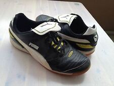 PUMA ESITO FINALE INDOOR black/white/yellow Größe 41