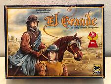 El Grande Spiel des Jahres 1996 Hans im Glück Strategiespiel Brett Familien