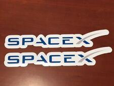 2x SpaceX Logo Car Bumper Laptop Phone Vinyl Die Cut Sticker Decal