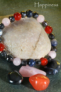 """HAPPINESS - a Handmade Themed POWER BRACELET based on """"POWER for LIFE"""""""