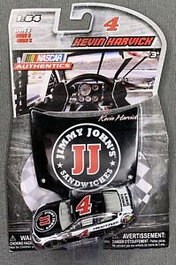 NASCAR AUTHENTICS #4 KEVIN HARVICK - JIMMY JOHN'S W/ HOOD - 2016 WAVE 5 - 1:64