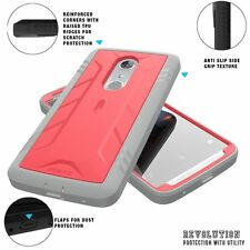 For ZTE AXON 7 Case Poetic Shockproof Dual Layer Kickstand Cover-【Revolution】PK