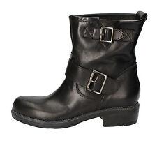 scarpe donna CRUZ 38 EU stivaletti nero pelle AD501-C