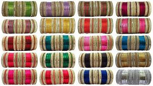 Bollywood Bangle Set 56 Ps Indian Wedding Bollywood Bridal Jewelry Free Shipping
