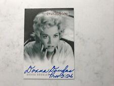 Rare Donna Douglas Twilight Zone Twz Series 1 Autographed Auto Card A2 Signed