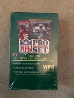 1990 ProSet Football Series #1 Unopened Wax Box (36 Packs)