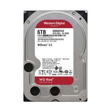 "Western Digital Red 3.5"" 5400 RPM 6TB NAS Internal Hard Drive WD60EFAX"