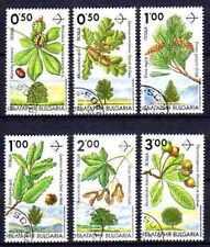 Flore - Fruits Bulgarie (15) série complète de 6 timbres oblitérés