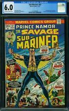 Sub-Mariner #67 (Marvel, 11/73) CGC 6.0 FN (Fantastic Four appearance)