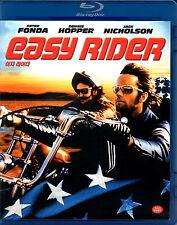 Easy Rider - Jack Nicholson Peter Fonda Dennis - Blu Ray - Region A/B/C - (NEW)