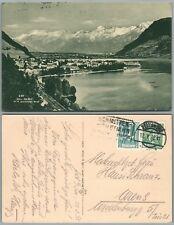 ZELL AM SEE AUSTRIA ANTIQUE POSTCARD w/ stamp