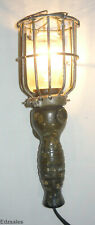Vintage Trouble Safety Cage Light garage gas shop inspection lamp