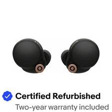 Sony WF-1000XM4 Noise Canceling Wireless Earbud Headphones - Black