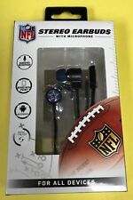 NFL Dallas Cowboys Headphones - Earbuds With Mic - Iphone & Android - NEW