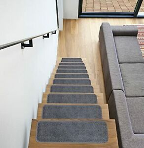 Ottomanson SST Softy Stair TREADS 26 14 Pack Gray 14 Count
