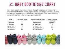 Zutano Cozie Fleece Baby Infant Stay-On Booties, Socks Boy Girl Baby Shower NWT
