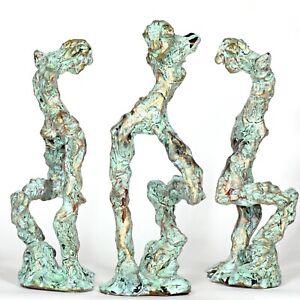 "Kunst Skulptur ""Achilles"" 22cm Unikat Andreas Loeschner-Gornau"