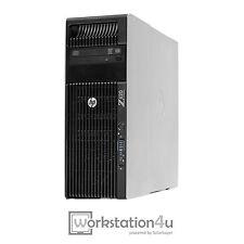 HP Z620 WORKSTATION XEON E5-1650 32 GB RAM GeForce gtx1070 256GB SSD 2TB HDD W10