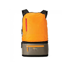 Lowepro Passport Duo Camera Backpack / Waist Bag - Orange/Mica