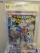 Amazing Spider-Man #165 CBCS 8.5 💎 Signed by John Romita Sr Stegron White Key