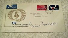 Dr. Christiaan Barnard Did 1St Heart Transplant. Rare First Day Cover Signed