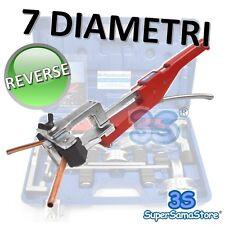 3S PIEGATUBI CURVA TUBO a CRICCO 7 DIAMETRI con PIEGA REVERSE x RAME MULTISTRATO
