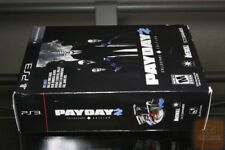Payday 2 Collector's Edition (PS3 2013) FACTORY SEALED! No. 367 / 20,000!