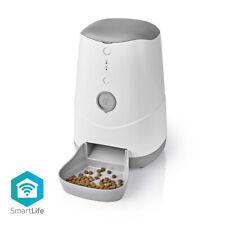 Nedis Smart Pet Food Dispenser from App on iPhone / Smartphone WIFI Timer