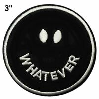 WHATEVER Car Truck Window Bumper Graphics Sticker Decal Funny Humor Applique