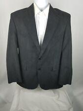 Vintage CIRCLE S Dallas Texas 40 R Black Suede  Western Blazer Jacket Suit Coat.