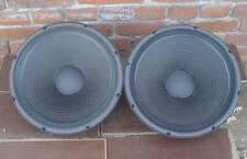 2 x Electro-Voice Force 15 Tiefmitteltöner  15 Zoll 380mm speaker lautsprecher