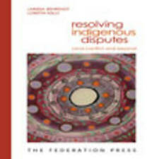 Resolving Indigenous Disputes-ExLibrary